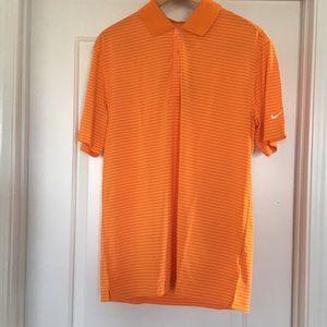 Nike Golf orange shirt